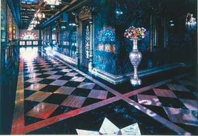 Prabhupada's Palace of Gold was seven years in the making by followers of Srila Prabhupada.