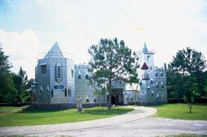 Solomon's castle in Ona, Florida, is an eye-catching roadside architectural wonder.
