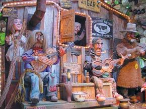Tinkertown, located in Sandia Park, New Mexico, is the handiwork of the late Ross Ward.