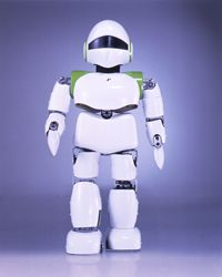 "Kitano's PINO ""The Humanoid Robot"""