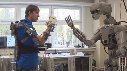 Russia Sending Humanoid FEDOR Robot into Space