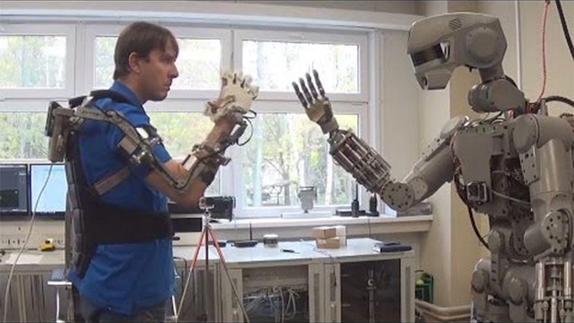 FEDOR, robot