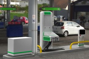 The robotic gas pumps will work with all car models, no matter their shape, size, or gas cap height.