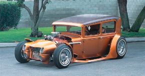 """""""Rod""""riguez blended hot rod, custom, and lowrider styling cues in an original way. See more hot rod pictures."""