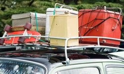 Image Gallery: Camping Just because you have a roof rack, you don't have to put everything you own on it.