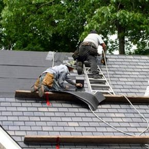 A new roof can add a lot to your house's worth. See more home construction pictures.