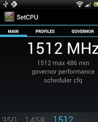 SetCPU is an app you'll use to hot-rod your CPU for ultra-powerful performance. Overclock the chip for serious multitasking or dial it back to conserve your battery's charge.