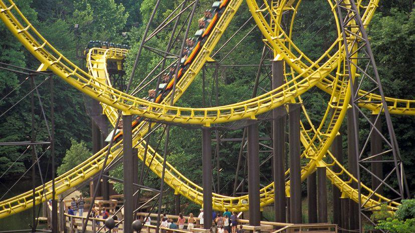 Virginia, Busch Gardens, Multi-Loop Roller Coaster