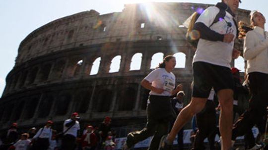 How the Rome Marathon Works