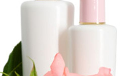 How does rose work in skin cleansers?