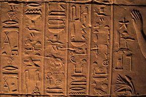 Egyptian hieroglyphics puzzled centuries of scholars.