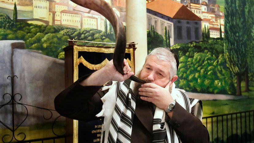 Rabbi Moshe Wilansky, shofar