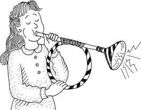 Make your own shofar with this Rosh Hashanah craft