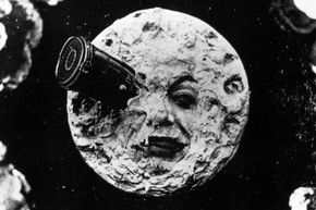 """The  1902 Georges Méliès  film """"Le Voyage Dans la Lune"""" features some of the first special effects ever captured on film."""