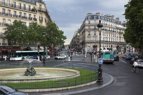 The French love their roundabouts.
