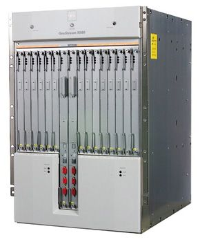 Fujitsu GeoStream R980 industrial strength router. See Internet connection pictures to see ways to get online.