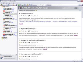 NewsGator's FeedDemon aggregator software for Windows gives you many ways to sort and read news feeds.