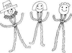 Chenille Stem Leprechauns St Patrick's Day Crafts
