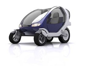City Car's design features special wheel assemblies, each containing its own engine, suspension, brakes and steering. See more small car pictures.