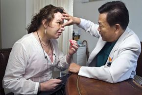 Some transgender women opt not only for gender reassignment surgery, but also for cosmetic procedures to feminize the face.