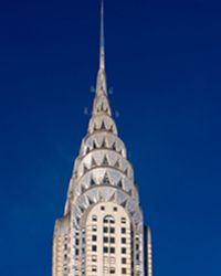 The top of the Chrysler Building in New York City. See more pictures of awesome architecture.