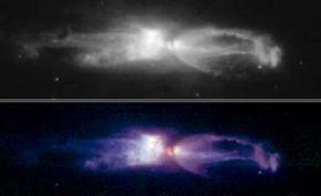 photograph of the Rotten Egg planetary nebula