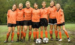 Community sports leagues and rec sports teams provide great ways for players of all ages to have fun and socialize.