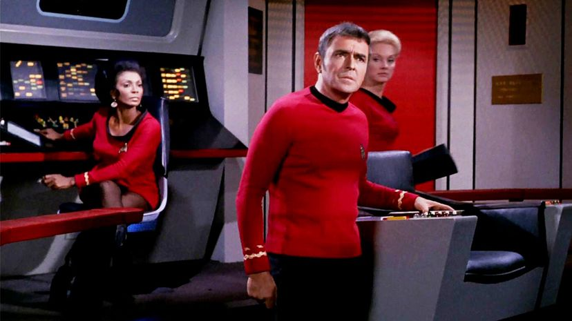 """Beam me up, photon? Not so fast. While a recent development in quantum communication is exciting, we're not on the verge of the kind of teleportation depicted in """"Star Trek"""" and other science fiction. CBS/Getty Images"""