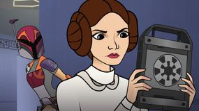 princess leia, sabine wren, star wars forces of destiny