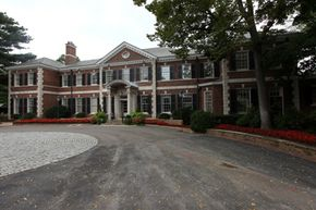 The exterior of the Governor's Mansion in Nashville, Tenn. The mansion recently underwent a six-year, $18 million restoration.