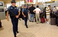 Some state troopers are limited to patrolling state or public property, such as airports.