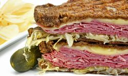 Dress up your grilled cheese sandwiches with a little shredded beef.