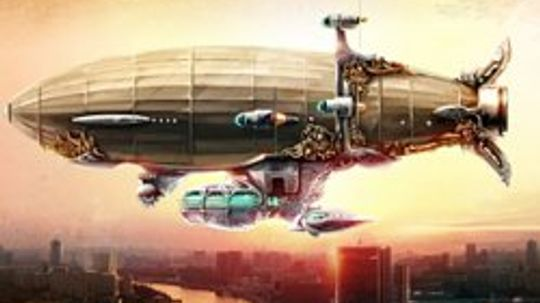Steampunk Blimps: Airships that Will Take You Back to the Future
