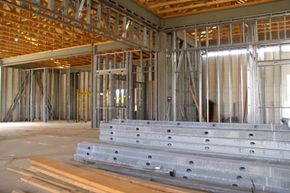 Steel studs are starting to pop up in more residential construction. Want to learn more? Check out these home design pictures!