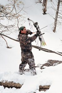 A light snow helps muffle the sounds of still hunting.