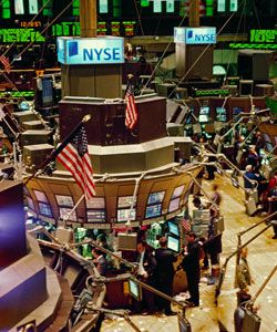 Trading floor of New York Stock Exchange. They know more about this stuff than we do, right? See more investing pictures.