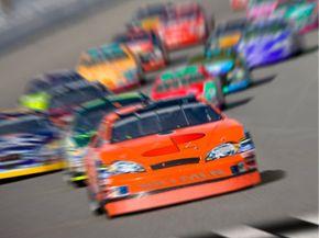 Stock car race.