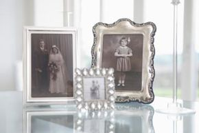 Though everyday frames may look nice, they aren't enough to keep your antique photos safe.