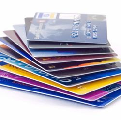 Most stores will give you a card to swipe every time you make a purchase.