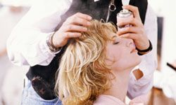 Many commercial hair products contain alcohol that strips away all the good stuff from your mane.