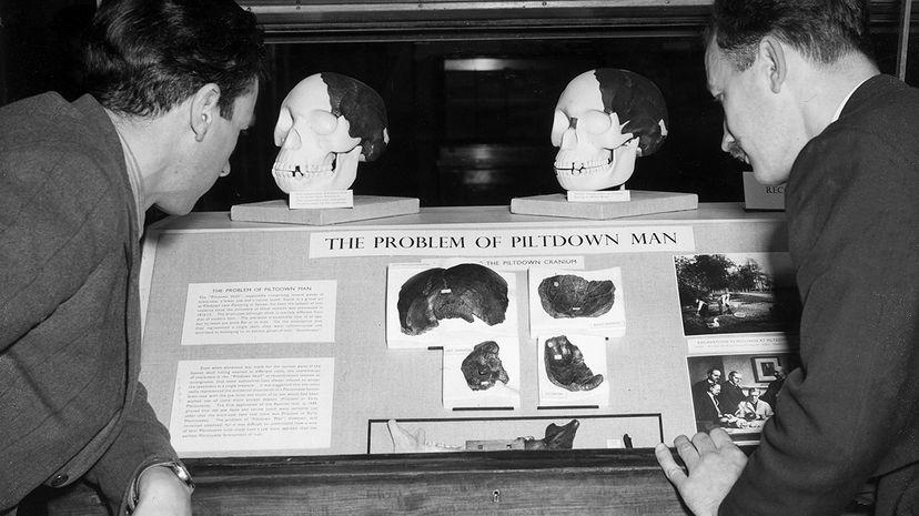 Piltdown man hoax