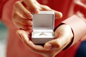 Some people might find it strange to spend a small fortune on an engagement ring.