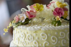 Serve year-old cake to celebrate a christening? You bet.