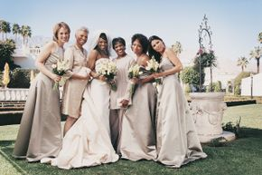 Whether you love or hate your bridesmaid's dress, you probably don't spend much time thinking about keeping evil spirits away from the bride.