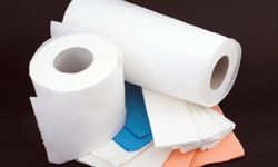 If paper products besides newspaper are in your cleaning arsenal, put them away.