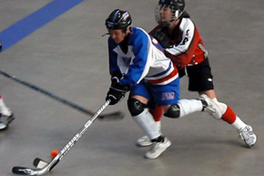 Think of street hockey as hockey without the ice: The rules, gear and personnel are largely the same.