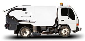 Mechanical street sweepers actually predate the automobile.