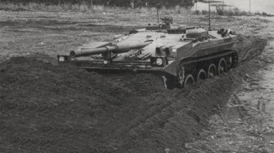 The Stridsvagn 103 Main Battle Tank