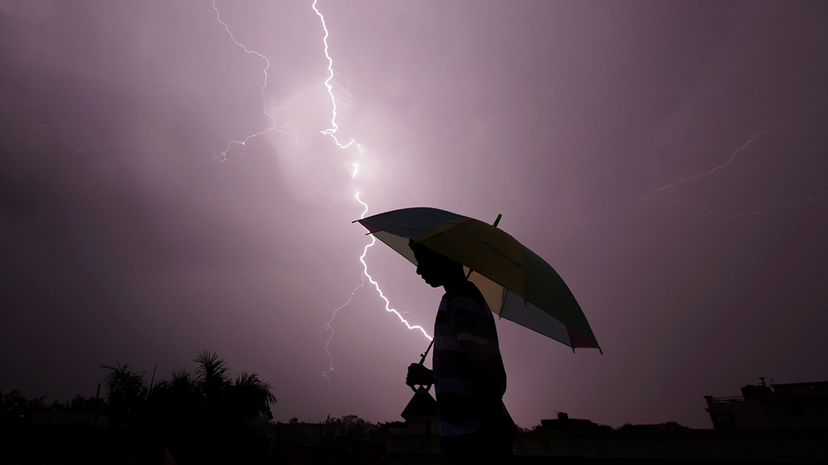 Lightning deaths in the United States have dropped significantly since the 1940s; that trend's driven by a number of factors. Rakesh Bakshi/AFP/Getty Images