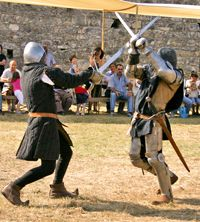Stuntmen are often called in to perform stunts like swordfights, instead of teaching the actors how to do it.